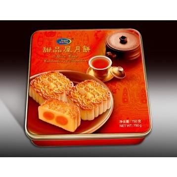 Sugar Honey 甜品屋 - Black Sesame 1 Yolk (4 pieces)